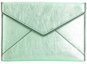 Rebecca Minkoff envelope shaped clutch - GREEN - STYLE