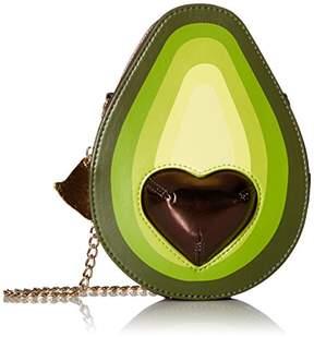 Betsey Johnson Bravo-Cado Avocado Shoulder Bag