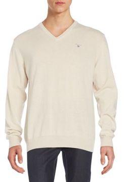 Gant Wool & Cashmere V-Neck Sweater