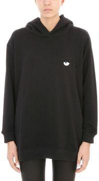 Chiara Ferragni Black Hoodie Girl Tour Sweatshirt
