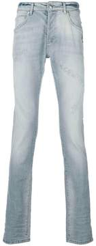 Pierre Balmain faded skinny jeans