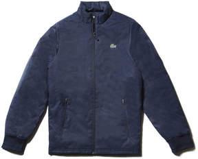 Lacoste Men's Sport Golf Herringbone Print Zip Jacket