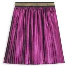 Gucci Little Girl's& Girl's Voile Lurex Skirt