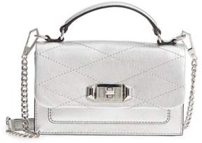 Rebecca Minkoff Small Je T'aime Leather Crossbody Bag - METALLIC - STYLE