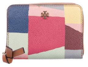 Tory Burch Multicolored Printed Wallet
