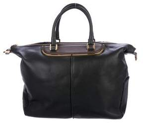 Tod's Classic Metal Bauletto Tote