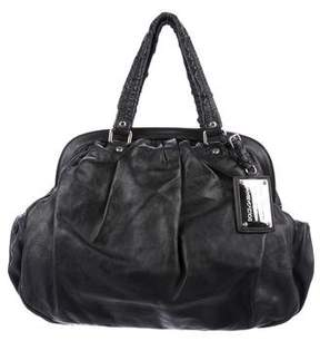 Dolce & Gabbana Pleated Leather Tote