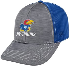Top of the World Adult Kansas Jayhawks Upright Performance One-Fit Cap