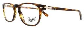 Persol Eyeglasses PO 3121V 938 Green Striped Brown 50MM