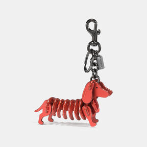 Coach Small Dog Puzzle Bag Charm