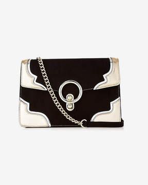 Express Metallic O-Ring Western Shoulder Bag