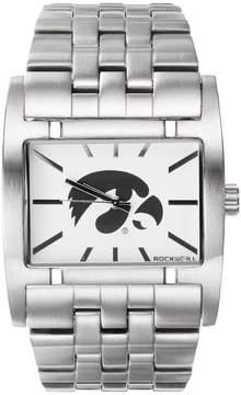 Rockwell Kohl's Iowa Hawkeyes Apostle Stainless Steel Watch - Men