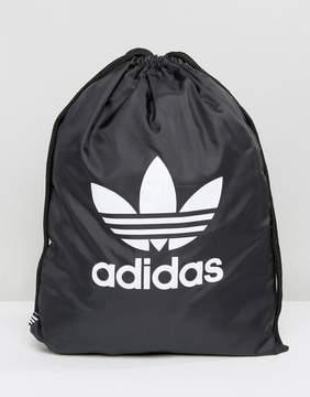 adidas Trefoil Drawstring In Black BK6726