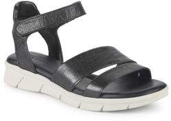 The Flexx Crossover Leather Sandals