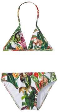 Oscar de la Renta Childrenswear Jungle Monkeys Bikini Girl's Swimwear Sets