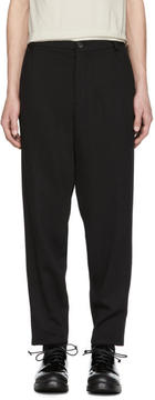 Damir Doma Black Wool Paal Trousers