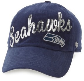 '47 Women's Seattle Seahawks Sparkle Cap - Blue