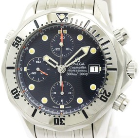 Omega Seamaster 2598.80 Stainless Steel 42mm Mens Watch