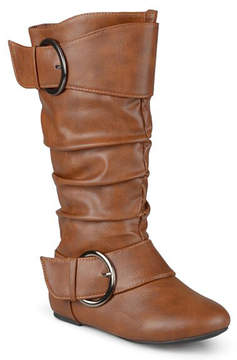 Journee Collection Chestnut Buckle Lassy Boot