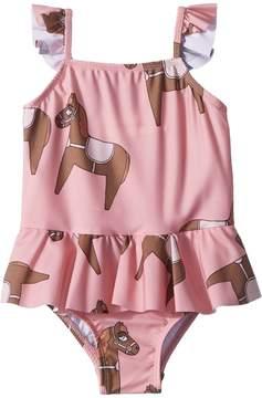 Mini Rodini Horse Skirt Swimsuit Girl's Swimsuits One Piece