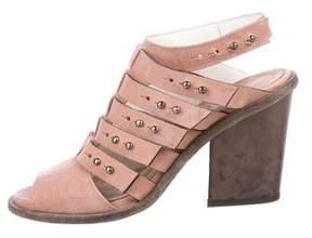 Freda Salvador Suede Multistrap Sandals