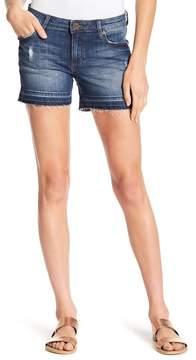 KUT from the Kloth Raw Hem Denim Shorts