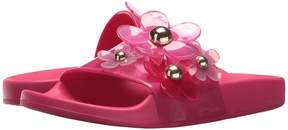 Marc Jacobs Daisy Aqua Slide Women's Slide Shoes
