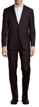 Corneliani Italian Two-Piece Wool Striped Suit