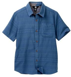Volcom Sampson Woven Short Sleeve Shirt (Big Boys)