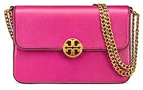 Tory Burch Chelsea Convertible Shoulder Bag - PARTY FUCHSIA - STYLE