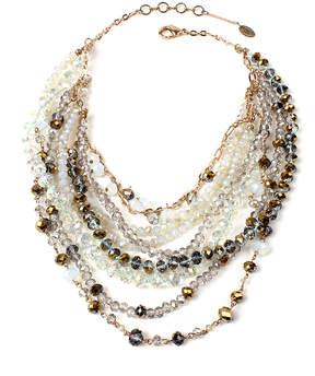 Amrita Singh Ivory & Goldtone Bead Layla Layered Necklace