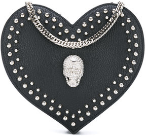 Philipp Plein heart shoulder bag
