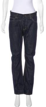 Surface to Air Mid-Rise Straight-Leg Jeans