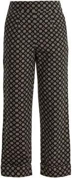 Ace&Jig Annie high-rise wide-leg cotton trousers