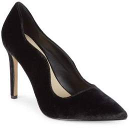 Saks Fifth Avenue Karlie Velvet High Heel Pump