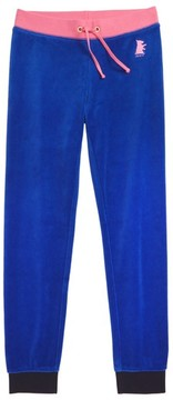 Juicy Couture Girl's Zuma Velour Pants