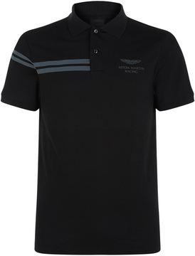 Hackett Aston Martin Racing Stripe Polo Shirt