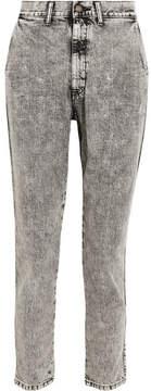 Bassike Lo Slung Boyfriend Jeans - Dark gray