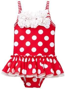Little Me Big Dot Swimsuit (Baby Girls)