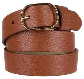Merona Women's Snake Skin Oval Buckle