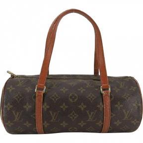 Louis Vuitton Papillon cloth handbag - BROWN - STYLE