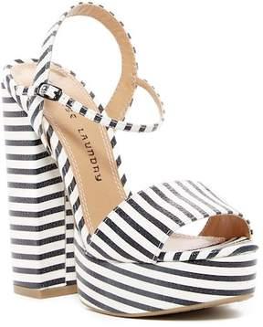 Chinese Laundry Aries Stripe Platform Sandal