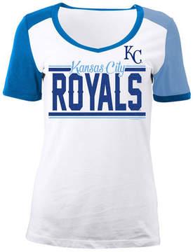 5th & Ocean Women's Kansas City Royals Cb Sleeve T-Shirt