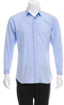 Christian Dior Woven Button-Up Shirt