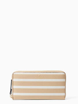 Kate Spade Hyde lane stripe michele - CLASSIC CAMEL/CREAM - STYLE