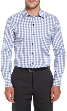 David Donahue Men's Gingham Sport Shirt