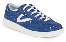 Tretorn Nylite Plus Splatter Denim Sneakers