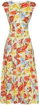 Emilia Wickstead June floral-print cut-out dress
