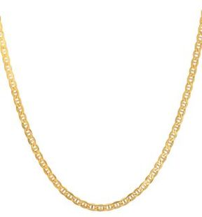 Lord & Taylor 14K Yellow Gold Chain Necklace