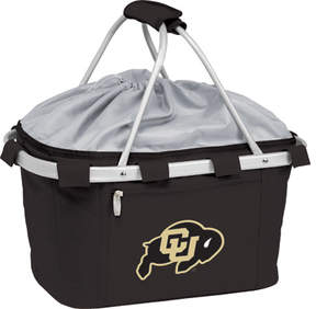 Picnic Time Metro Basket U of Colorado Buffaloes Print